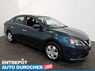 Used 2018 Nissan Sentra SV Automatique - AIR CLIMATISÉ - Groupe Électrique for sale in Laval, QC