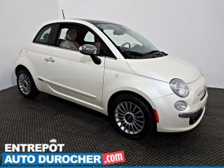 Used 2012 Fiat 500 Lounge TOIT OUVRANT - A/C - CUIR for sale in Laval, QC