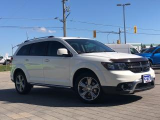 Used 2016 Dodge Journey Crossroad**Leather**Back UP CAM**7 Passanger for sale in Mississauga, ON