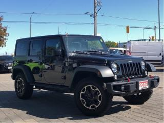Used 2016 Jeep Wrangler Unlimited Rubicon**4X4**Leather**NAV** for sale in Mississauga, ON