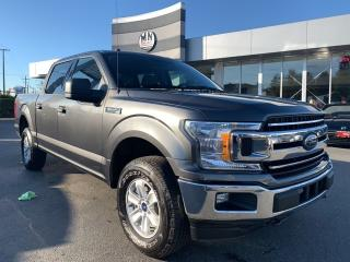 Used 2018 Ford F-150 XLT 4WD CREW SB 5.0L V8 REAR CAMERA ONLY 31KM for sale in Langley, BC