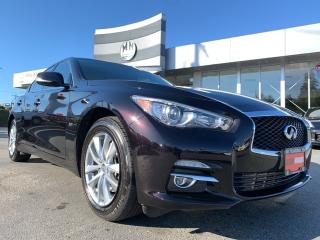 Used 2016 Infiniti Q50 2.0T AWD NAVI REAR CAMERA SUNROOF ONLY 37KM for sale in Langley, BC