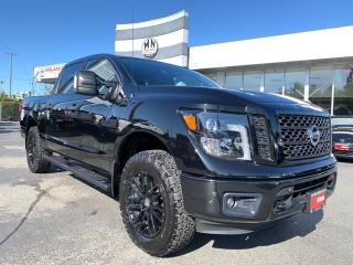 Used 2018 Nissan Titan SL Midnight Edition 4WD NEW BFG TIRES ONLY 29KM for sale in Langley, BC