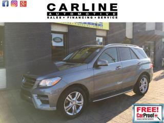 Used 2012 Mercedes-Benz ML-Class 4MATIC 4dr 3.5L for sale in Nobleton, ON
