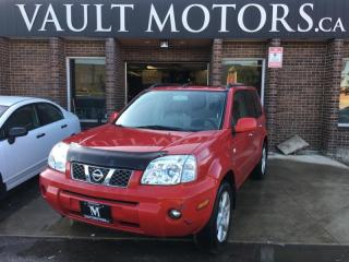Used 2006 Nissan X-Trail AWD NO ACCIDENTS ONTARIO VEHICLE for sale in Brampton, ON