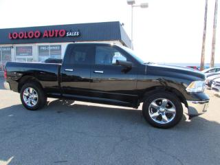 Used 2014 RAM 1500 SLT Quad Cab 4WD Camera Certified for sale in Milton, ON