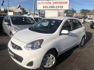 Used 2017 Nissan Micra Automatic All Power/Cruise/Keyless/Bluetooth&GPS* for sale in Mississauga, ON