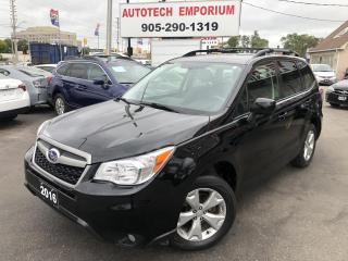 Used 2016 Subaru Forester Convenience Pkg Alloys/Camera/Heated Seats&GPS for sale in Mississauga, ON