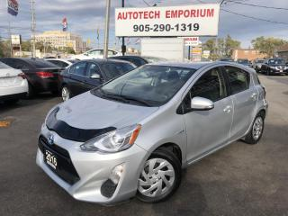 Used 2016 Toyota Prius c Hybrid Camera/Heated Seats/All Power &GPS* for sale in Mississauga, ON
