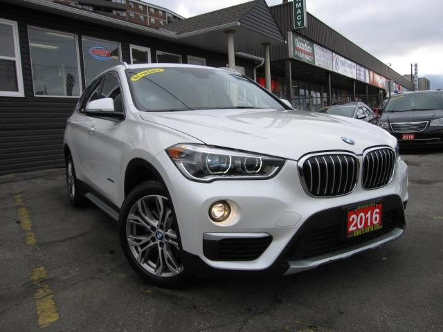 2016 BMW X1 xDrive28i NAVIGATION, HEATED SEATS, LEATHER INTERIOR, SUNROOF, 4WD/AWD, WOODGRAIN TRIM INTERIOR