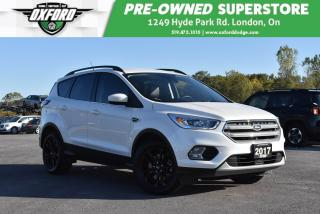 Used 2018 Ford Escape SEL - One Owner, Roof Rack, Backup for sale in London, ON