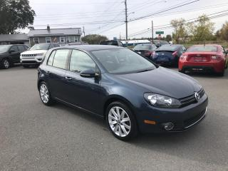 Used 2012 Volkswagen Golf 2.0L 4-Door TDI for sale in Truro, NS