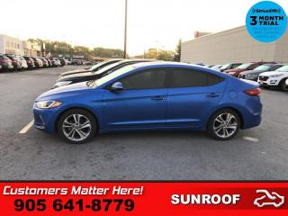 Used 2017 Hyundai Elantra GLS  ROOF CAM HS HTD-S/W BT ALLOYS for sale in St. Catharines, ON