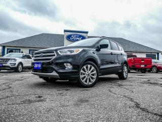 Used 2019 Ford Escape SEL- 4X4- LEATHER- PANORAMIC SUNROOF- BLUETOOTH for sale in Essex, ON