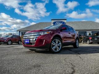 Used 2013 Ford Edge SEL- LEATHER- NAVIGATION-- POWER LIFT GATE for sale in Essex, ON