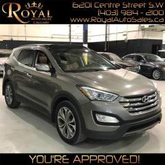 Used 2014 Hyundai Santa Fe Sport Limited for sale in Calgary, AB