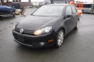 Used 2012 Volkswagen Golf 2.0L TDI Diesel Tech Package 4 Door for sale in Burnaby, BC