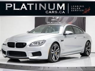 Used 2014 BMW M6 Gran Coupe, NAV, EXECUTIVE, Bang & OLUFSEN, Carbon for sale in Toronto, ON