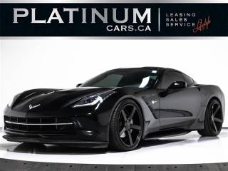 Used 2014 Chevrolet Corvette Stingray, Targa ROOF, 7 SPEED, NAVI, BLUETOOTH, for sale in Toronto, ON