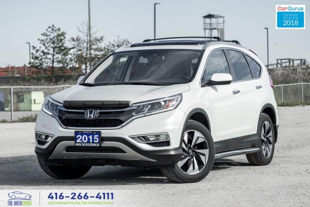2015 Honda CR-V Touring|Low KM|1 Owner|Clean Carfax|Leather|Navi