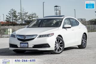 Used 2015 Acura TLX Tech 2.4 NavGps Clean Carfax Certified We Finance for sale in Bolton, ON