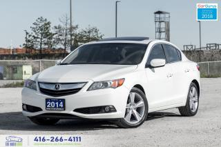 Used 2014 Acura ILX Premium R*Cam Sunroof Certified Serviced Financing for sale in Bolton, ON