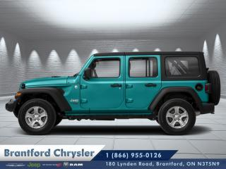 Used 2020 Jeep Wrangler Unlimited Sahara for sale in Brantford, ON