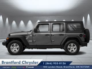 Used 2020 Jeep Wrangler Unlimited Sahara Altitude for sale in Brantford, ON