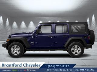 Used 2020 Jeep Wrangler UNLIMITED SPORT 4x4 for sale in Brantford, ON
