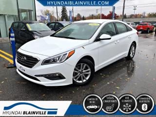 Used 2015 Hyundai Sonata GL CAM RECUL, BLUETOOTH, BANCS CHAUFFANT for sale in Blainville, QC
