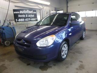 Used 2009 Hyundai Accent 3dr HB Man L $5.79/sem+taxes for sale in St-Raymond, QC
