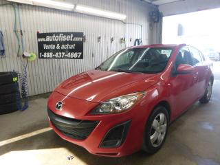 Used 2011 Mazda MAZDA3 4dr  5 VIT GX $14.79/SEM+TAXES for sale in St-Raymond, QC