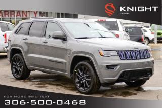 New 2020 Jeep Grand Cherokee Altitude V6 | Leather | Sunroof | Navigation for sale in Swift Current, SK