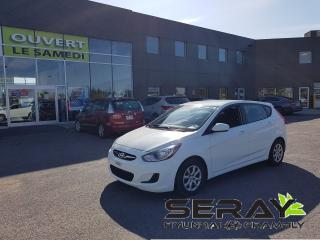 Used 2014 Hyundai Accent 5dr GL, BLUETOOTH, A/C for sale in Chambly, QC