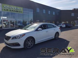 Used 2015 Hyundai Sonata 2.0T Ultimate, CAMERA, MAGS, CUIR, TOIT PANO for sale in Chambly, QC
