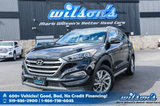 Used 2018 Hyundai Tucson Premium AWD Used w/New Tires! Heated Steering, Android Auto+Apple CarPlay, Blindspot Monitor & more! for sale in Guelph, ON