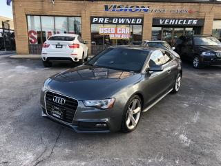 Used 2013 Audi A5 2dr Cpe Auto S line Competition for sale in North York, ON