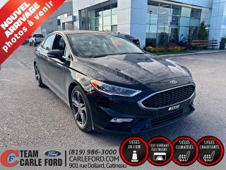 Used 2018 Ford Fusion Ford Fusion Sport AWD 2018, Caméra de re for sale in Gatineau, QC