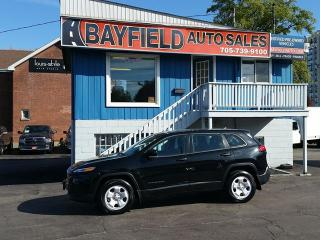 Used 2015 Jeep Cherokee Sport 4x4 **Heated Seats & Steering Wheel/Bluetooth** for sale in Barrie, ON
