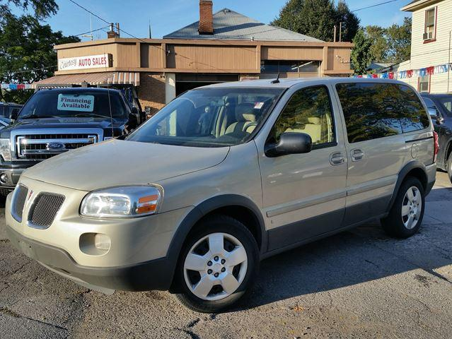 2009 Pontiac Montana Sv6 One Owner Exceptional Condition Low Km's