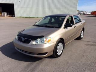Used 2005 Toyota Corolla 4DR SDN CE AUTO for sale in Quebec, QC