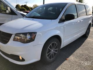 Used 2015 Dodge Grand Caravan SE/SXT DVD! Rear Air, Bluetooth and Captain Chairs with Sto n Go and Alloys with Fog Lights! for sale in Kemptville, ON