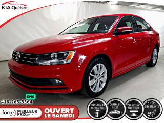 Used 2015 Volkswagen Jetta TDI* COMFORTLINE* DSG* TOIT* SIEGES CHAUFFANTS* for sale in Québec, QC