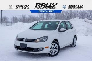 Used 2013 Volkswagen Golf COMFORTLINE for sale in Prince Albert, SK
