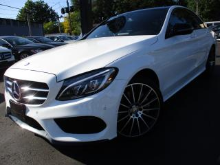 Used 2016 Mercedes-Benz C-Class C300 4MATIC|360CAM|NAVI|ONE OWNER|33KM|PANORAMA for sale in Burlington, ON