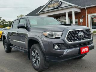 Used 2018 Toyota Tacoma TRD Sport 4x4, Heated Seats, NAV, Lane Departure, Bluetooth, Back Up Cam for sale in Paris, ON