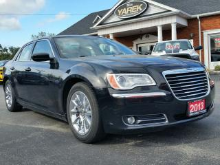 Used 2013 Chrysler 300 Touring RWD, Leather Heated Seats, NAV, Back Up Cam, Pano Roof, Remote Start for sale in Paris, ON