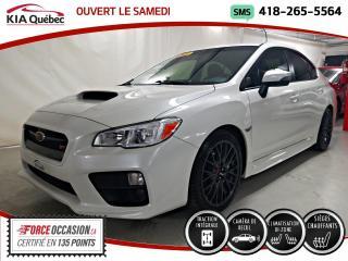 Used 2017 Subaru Impreza WRX STi AWD* SIEGES CHAUFFANTS* CAMERA* for sale in Québec, QC