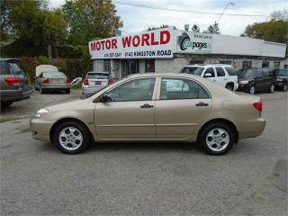 Used 2007 Toyota Corolla CE for sale in Scarborough, ON