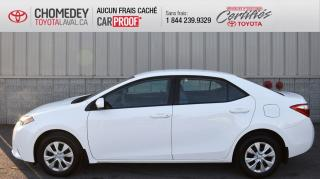 Used 2015 Toyota Corolla CE, AUTOMATIQUE, A/C, SEULEMENT 32 517 KM for sale in Laval, QC